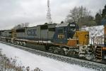 CSX 8711 on V771-16