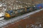 CSX 7361 on Q167-16