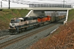 BNSF 9748 on CSX E943-27