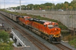 BNSF 6052 on CSX N891-11