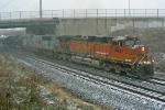 BNSF 4004 on CSX Q380-02