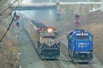 BNSF 9529 on CSX N859-11