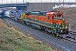 BNSF 8632 on CSX Q380-12