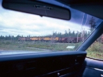 1416-25 C&NW ore train
