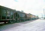1416-30 C&NW ore train