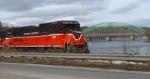 Empty Bow NH Coal Train