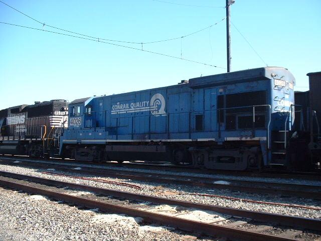 Coal train in ex-VGN yard
