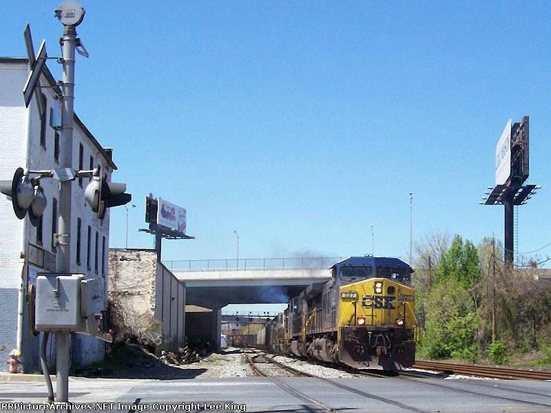 CSX 527 Coal Y162