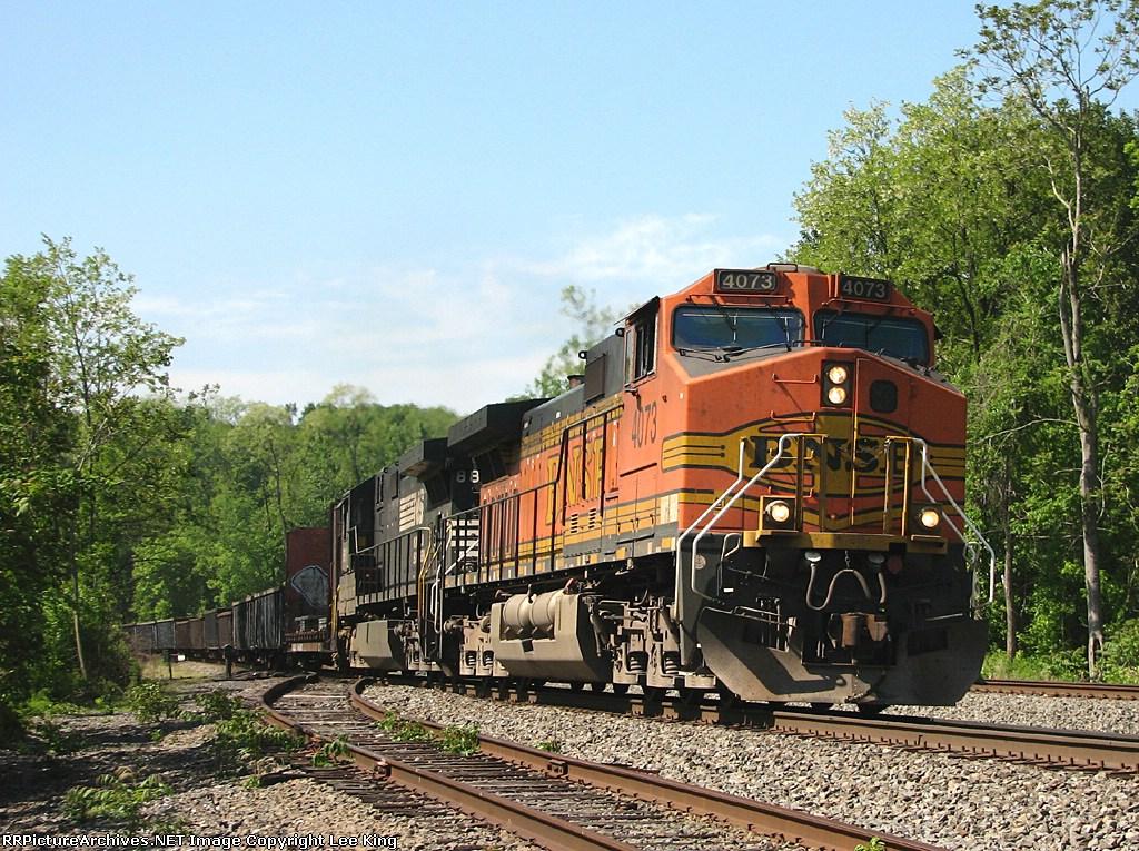 BNSF 4073 NS 34M