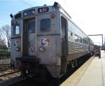 SEPTA Arrow II cab car 601 (ex-NJT 1237)
