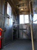 Cab of SEPTA Arrow II cab car 601