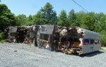 Scrapped SEPTA Silverliner IIs