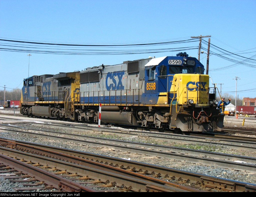 The power from K895 heading to the house to be serviced before continuing west