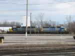 CSX 8876 & 8334