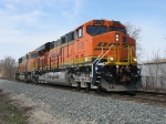 BNSF 6179 & 9917 returning from West Olive as D801-01