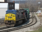 CSX 7818 leading Q326 out of Sunnyside