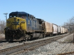 CSX 84 bringing K905-12 into the yard
