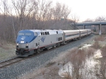 AMTK 169 leading P371 westward