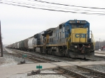 CSX 7519 & 5219 putting their power to the rail as G880 starts rolling