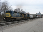 CSX 7519 & 5219 pulling G880 past Pleasant St