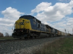 Q335-15 rolling west