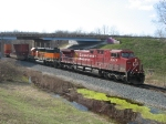 CP 8655 & BNSF 8057 leading X500-14
