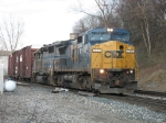 CSX 7313 & GCFX 3095 leading Q327-15 through Sunnyside
