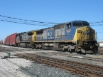 CSX 7697 & 9050 leading Q326-16 down the Old Even
