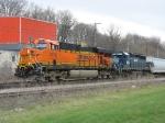 BNSF 7630 & HLCX 8156