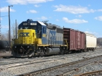 CSX 4446 brings Y106 back into the yard