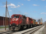 CP 5662 & 6051 with UP 9505 leading X500 eastward