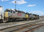 KCS 663 trailing behind CSX 8606 & 5315