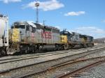 KCS 663 trailing behind CSX 8606 & 5315