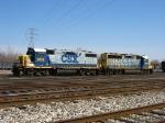 CSX 2615 & 6117