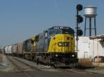 CSX 8785 leading Q326-22 onto Main 1