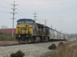 CSX 7728 & 5221 leading Q326-23 out of the sag