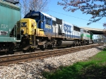 CSX 8629 following behind FURX 3036