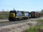 CSX 5955 & 2630 leading D908 westward