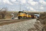 UP 8372 leads Q351 west