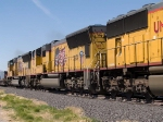 UP 5113 #3 power in an EB intermodal at 2:32pm