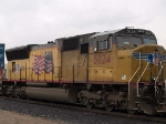 UP 5024 #2 power in an EB intermodal at 12:19pm