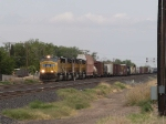 UP 4922 leads a WB manifest into Alfalfa yard at 3:00pm