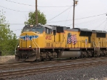 UP 4922 leads a a WB manifest into Alfalfa yard at 3:00pm