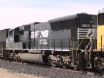 NS 2615 #2 power in an EB manifest at 4:19pm