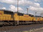 UP 4396 #2 power in a WB intermodal at 4:29pm