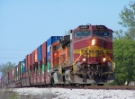 Detoured Southbound BNSF Intermodal