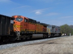 Southbound Loaded Coal Train DPU's