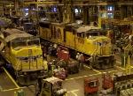 UP Downing B. Jenks Locomotive Shop