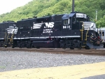 NS 5614 resting in suffern yard