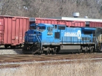 NS 8319 in Conrail paint
